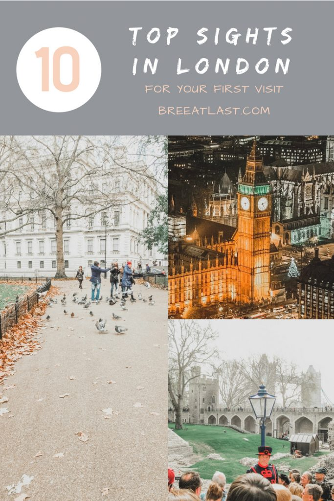 London's Top Ten for Your First Visit | London Travel Guide | BreeAtLast.com