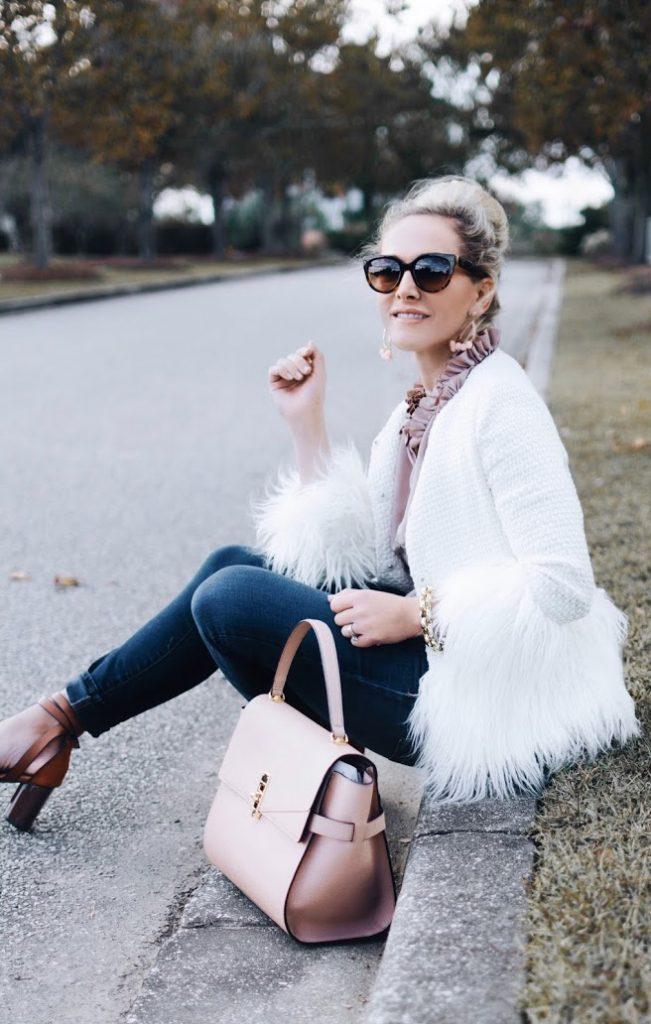 This Season's Must-Have Winter White Blazer