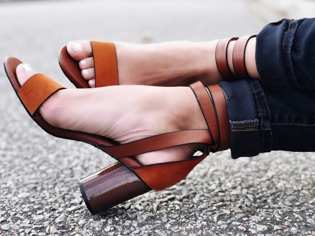 Best Brown Ankle Strap Heels