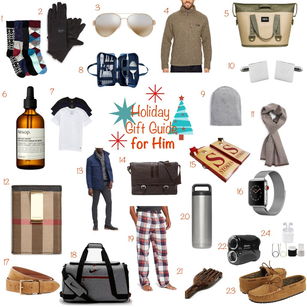 Bree's Holiday Gift Guide For Him