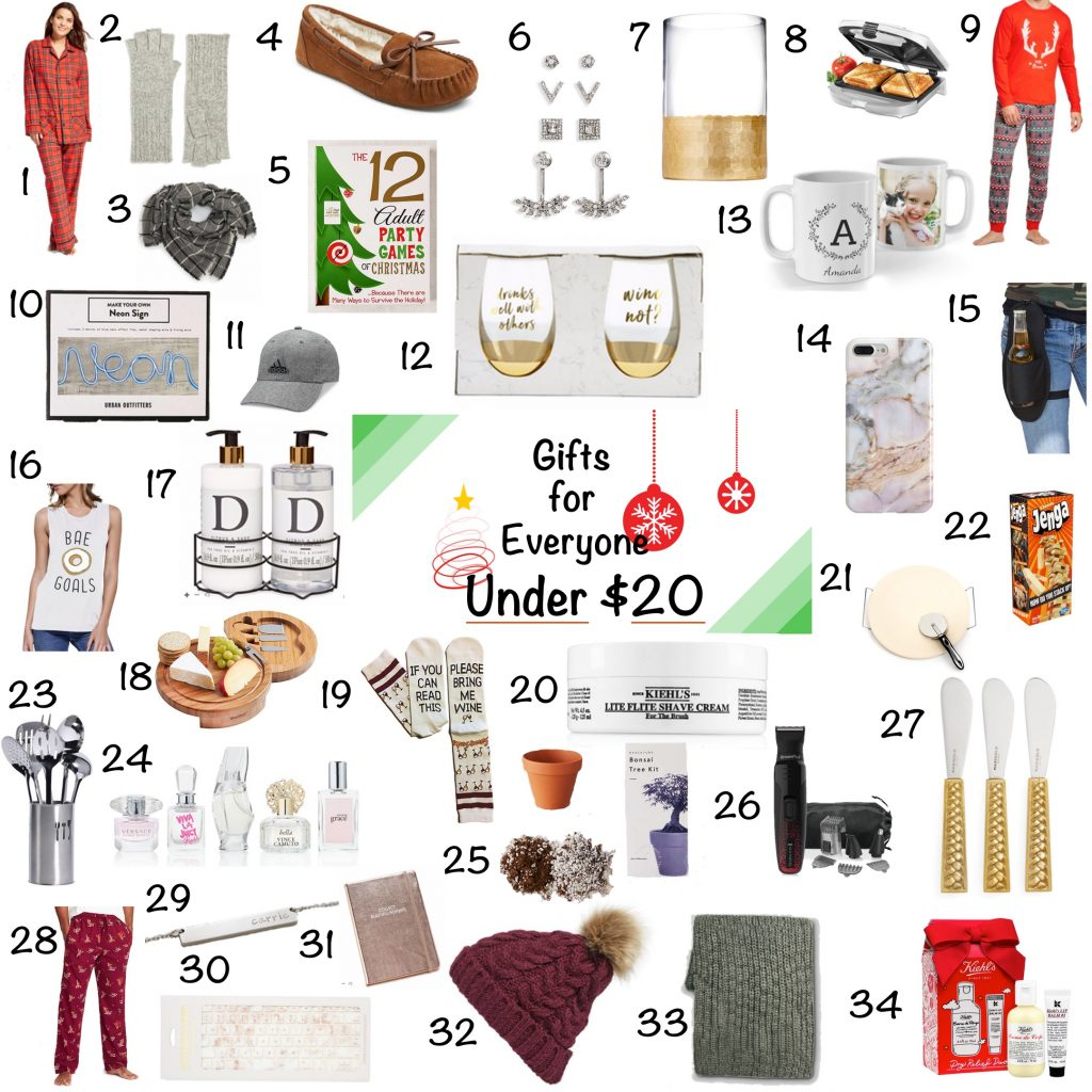 Gift Guide: Gifts Under $20