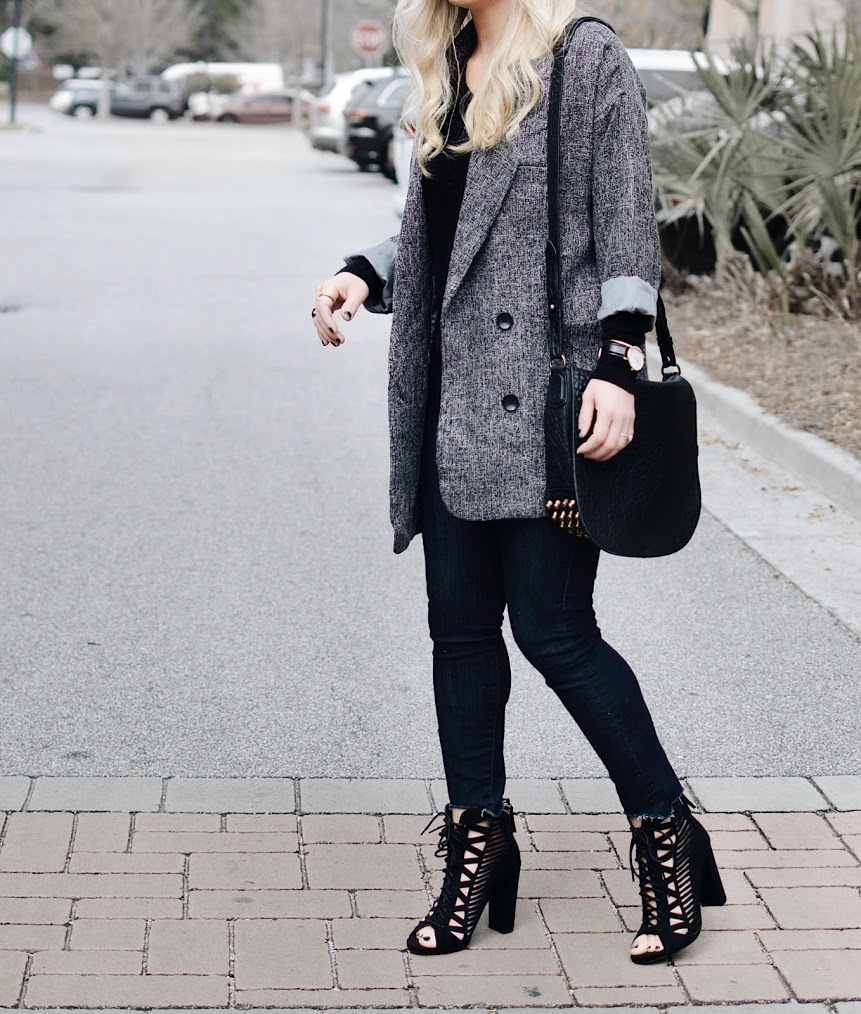 Friday Favorite: Gray Boyfriend Blazer