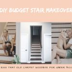 DIY Budget Stair Makeover : Kiss That Old Carpet Goodbye for under $100