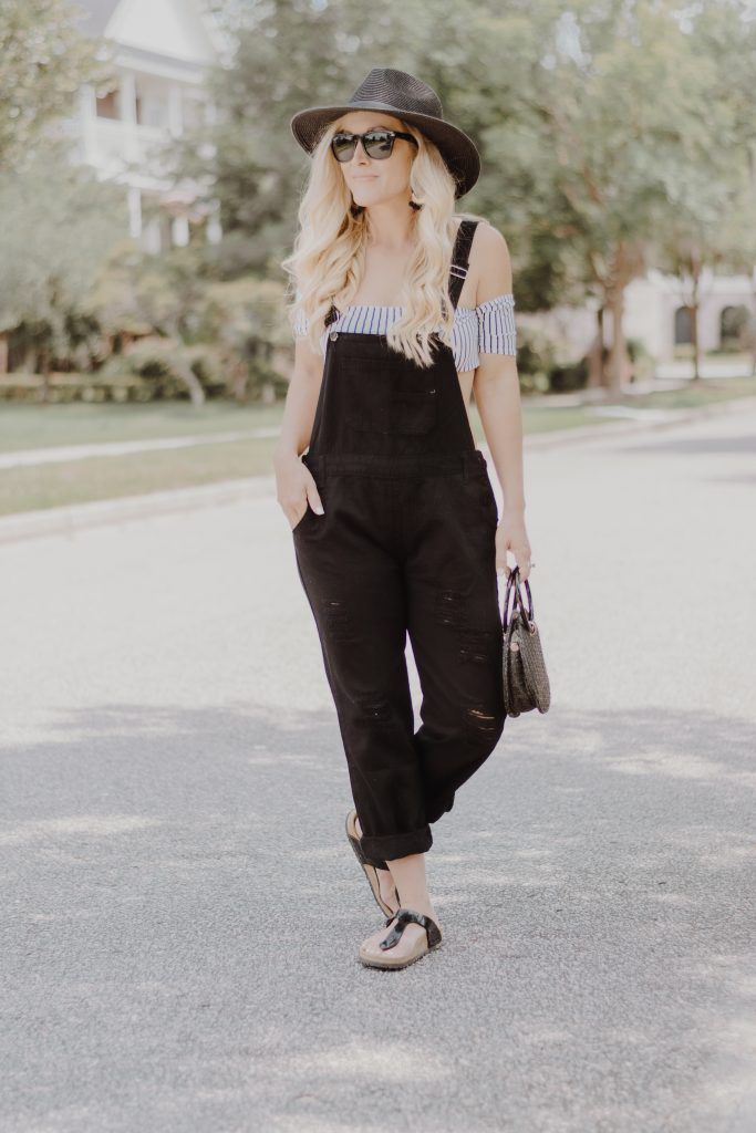 Affordable Fashion Finds | Black Denim Overalls