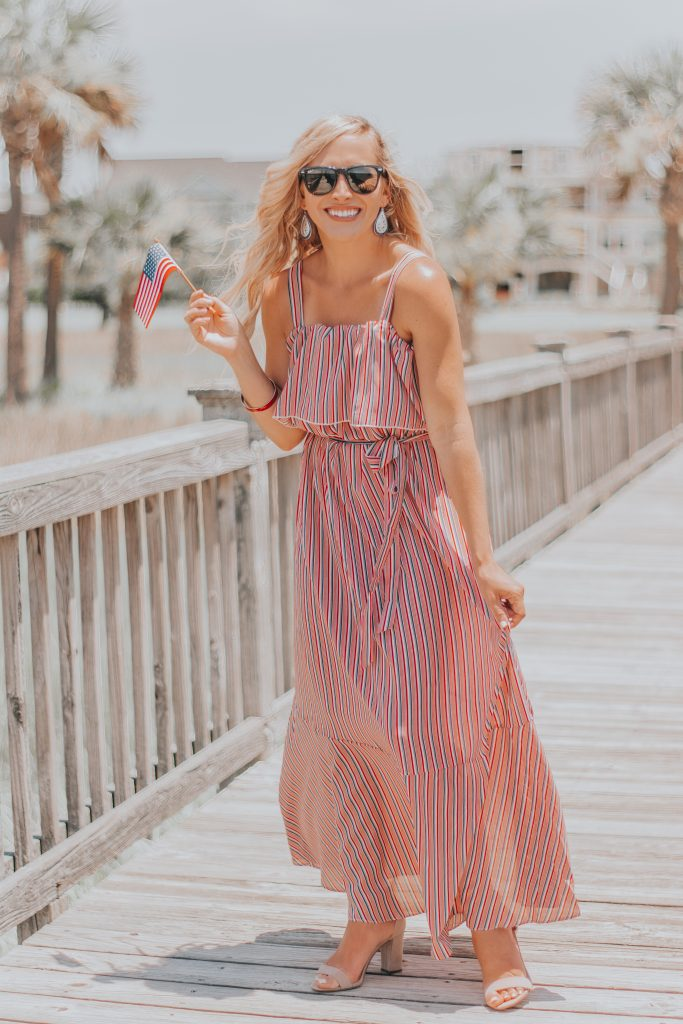 Fouth of July is Better in the Right Outfit | Cutest Red, White and Blue Dress