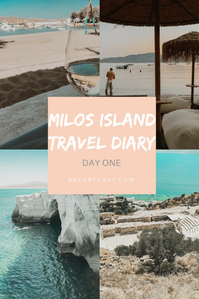 Adventures in Greece | Milos Island | Day 1