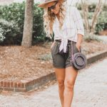 End of Summer Style | (more) Paper Bag Waisted Shorts