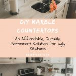 DIY Marble Countertops | Permanently Cover Your Ugly Old Granite or Laminate