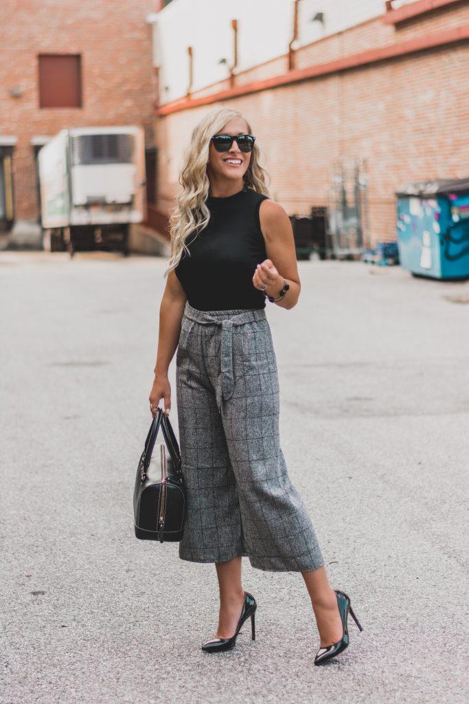 Werk Wednesday Office Wear Inspo | Black and Gray All Day | BreeAtLast.com