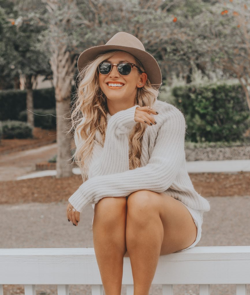 Shorts + Sweaters | Easing into Fall with One of My Favorite Transitional Looks