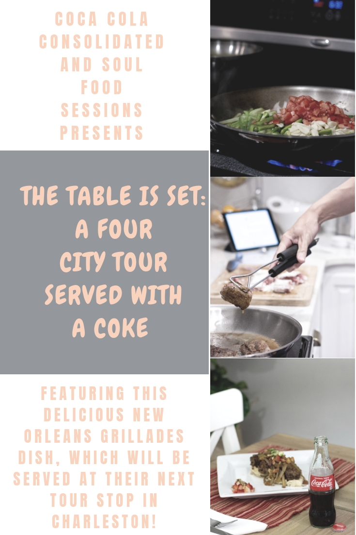 Charleston Culinary Event | The Table is Set Tour in partnership with Soul Food Sessions and Coca Cola Consolidated | BreeAtLast.com