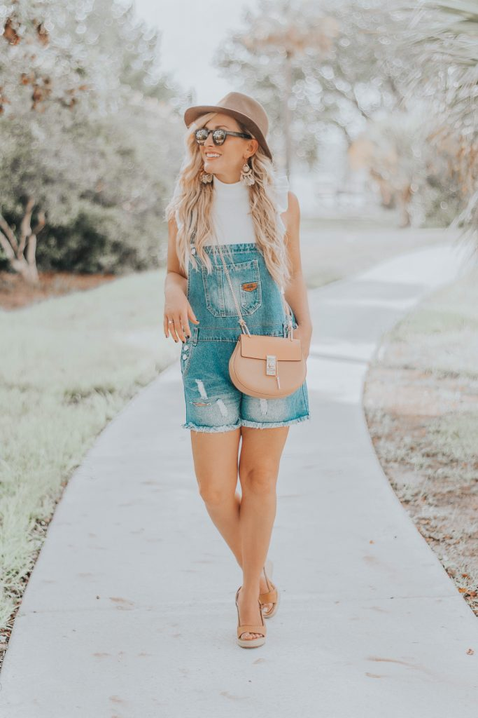 Budget Friendly Overalls + 10 Things You (Probably) Didn't Know About Me | BreeAtLast.com