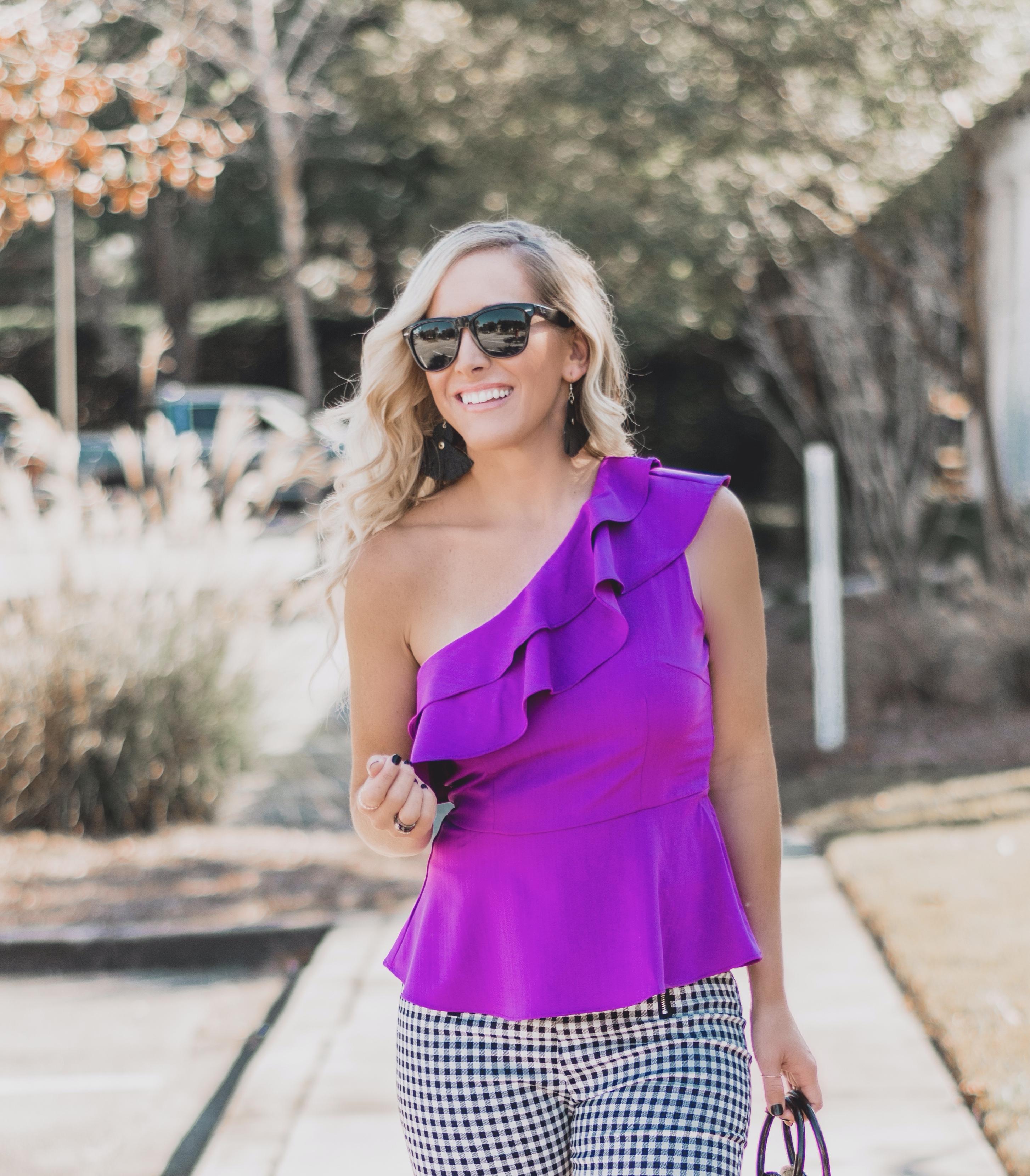 Ivy Rowe Boutique | Gift Card Giveaway | Violet Peplum Top | BreeAtLast.com
