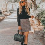 Favorite Fall Staple | The Plaid Mini Skirt + How I Dropped 10 Pounds without Starving Myself