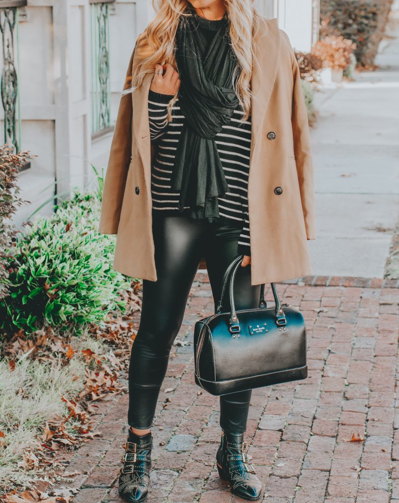 Camel Coat Closet Staple (for under $40!) + My November Review