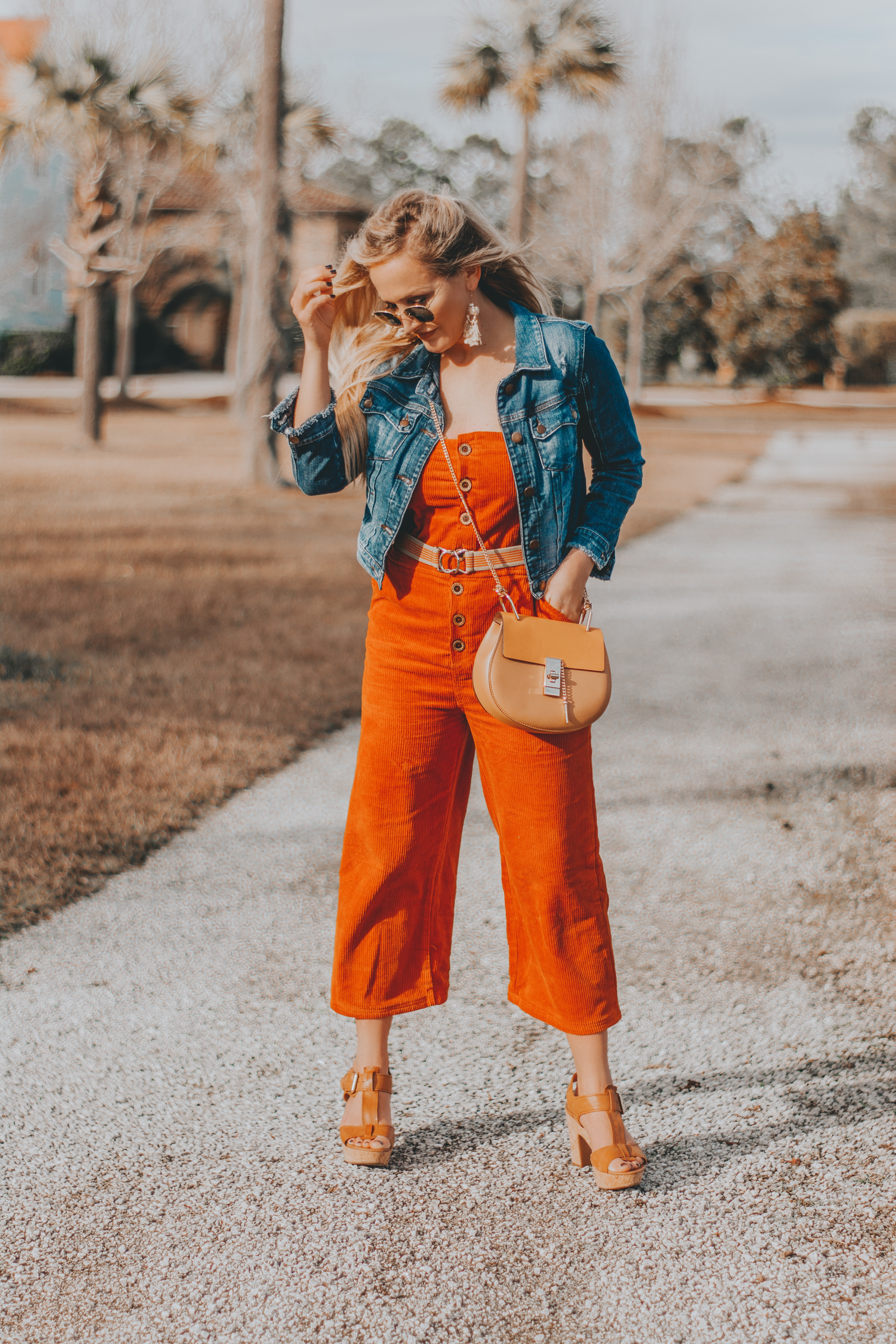 Sharing my new Rust Corduroy Jumpsuit from Forever 21, plus a round up of my favorite Valentine's jammies and loungewear at BreeAtLast.com
