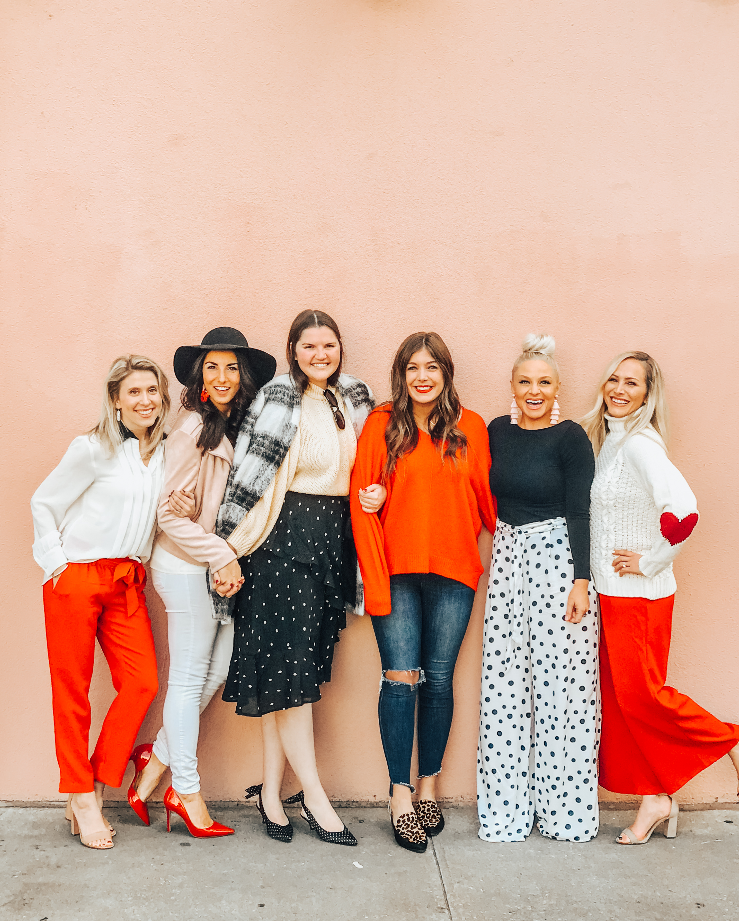 Galentine's Brunch at Poogan's Porch Charleston + Cute and Casual Budget Friendly Valentine's Outfit | BreeAtLast.com