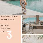 Adventures in Greece   Milos Island   Day 3