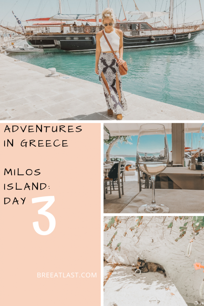 Adventures in Greece | Milos Island | Day 3
