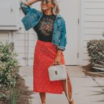 The Most Versatile Red Skirt for Under $20