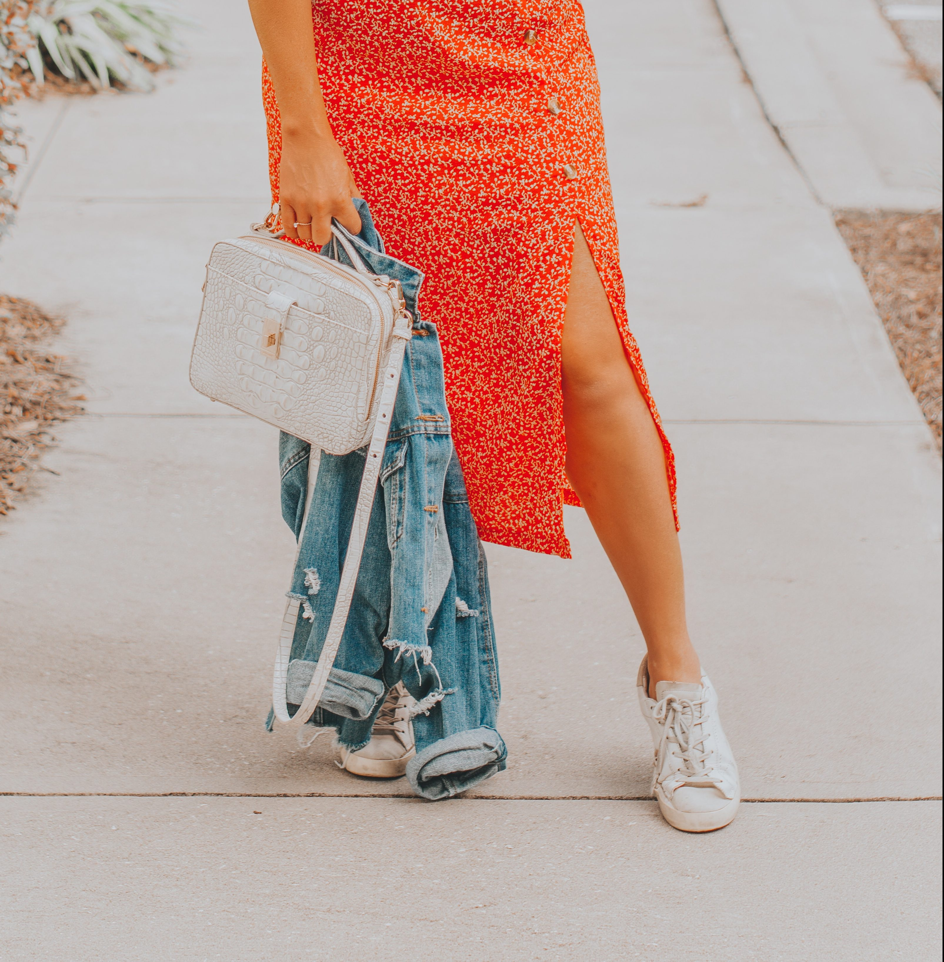 The Most Versatile Red Skirt for Under $20 | BreeAtLast.com