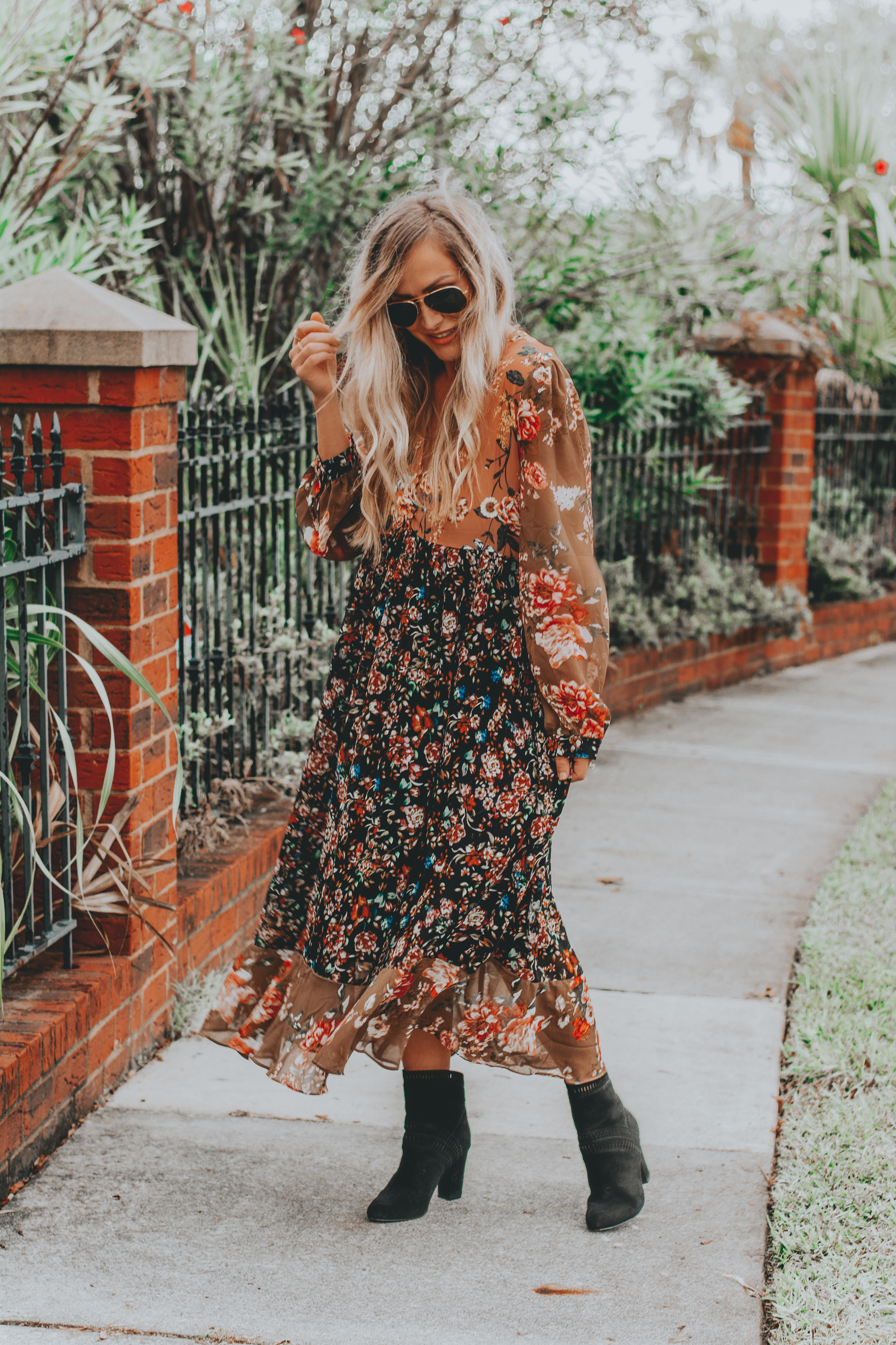 The $30 Midi Dress You Need in Your Closet This Fall | BreeAtLast.com