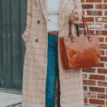High Quality on a Low Budget | My $51 Plaid Longline Coat Find