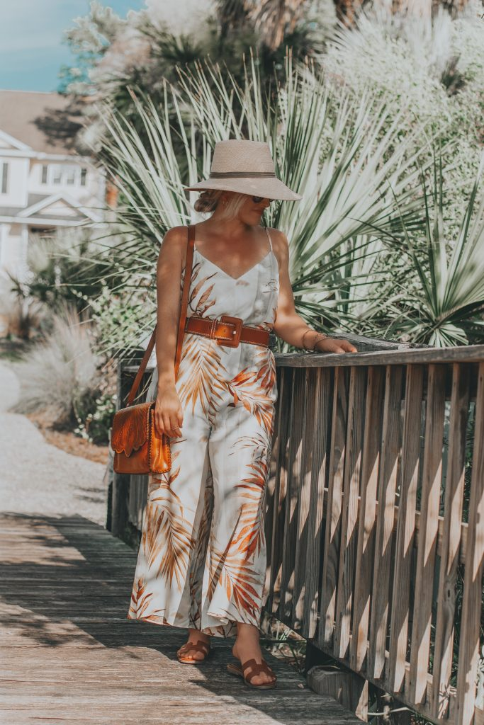 Bree's Budget Finds | Tropical Vacay Jumpsuit | BreeAtLast.com