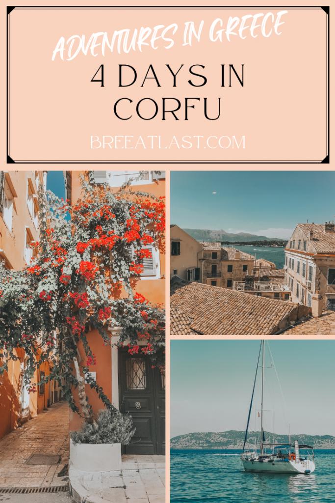 Adventures in Greece | 4 Days in Corfu | BreeAtLast.com